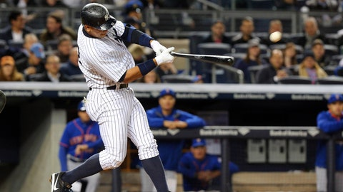 Alex Rodriguez -- He's back with a vengeance