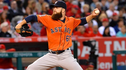 Starting Pitcher -- Dallas Keuchel, Houston Astros