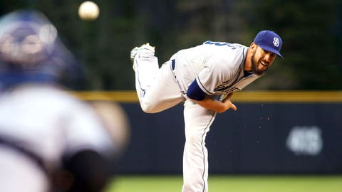 Starting Pitcher -- James Shields, San Diego Padres