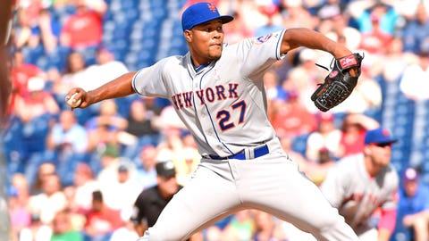 Closer -- Jeurys Familia, New York Mets