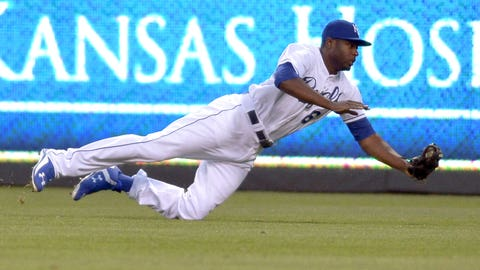 Outfielder -- Lorenzo Cain, Kansas City Royals