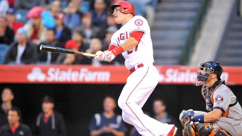 Outfielder -- Mike Trout, Los Angeles Angels Of Anaheim