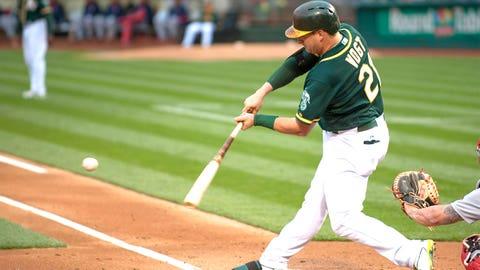Catcher -- Stephen Vogt, Oakland Athletics