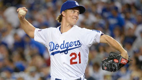 Starting Pitcher -- Zack Greinke, Los Angeles Dodgers