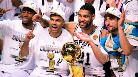 8. 2014 San Antonio Spurs