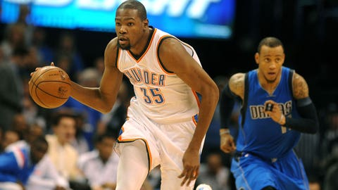 11. SF Kevin Durant (2007-15)