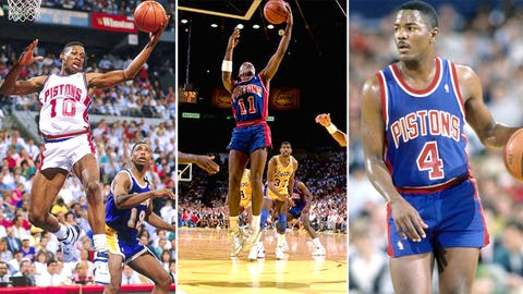 2. 1988 Detroit Pistons