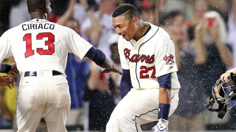 High: Bethancourt's first career HR is a walk-off (6/6)