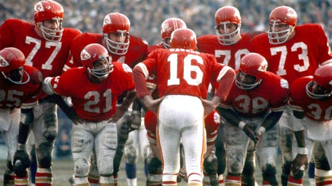 Super Bowl IV: Chiefs 23, Vikings 7