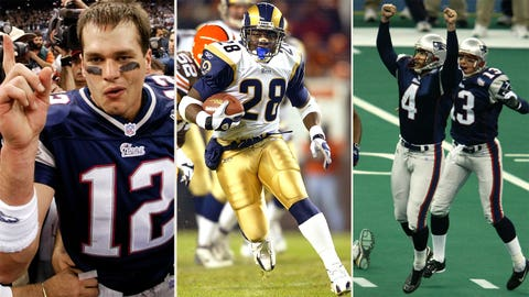 Super Bowl XXXVI -- Patriots 20, Rams 17