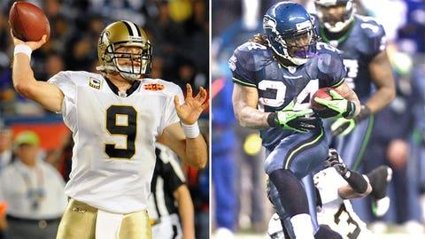 2010 NFC Playoffs -- Seahawks 41, Saints 36