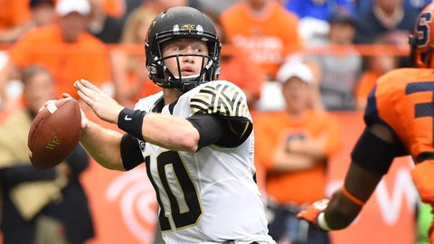 Military Bowl: Wake Forest (+14) over Temple