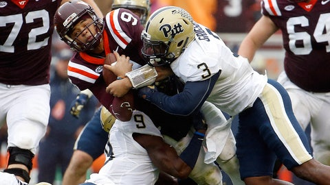 DOWN: Bowl hopes of Virginia Tech