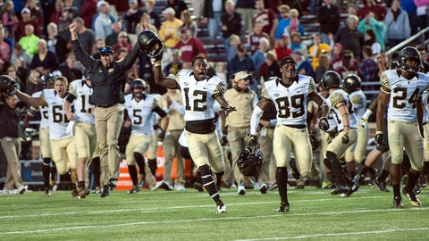 Wake Forest (42 points)