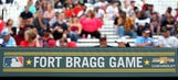 Sights from MLB's historic Braves-Marlins game at Fort Bragg
