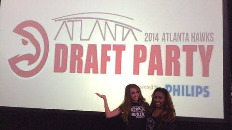2014 Atlanta Hawks Draft Party