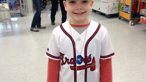 Braves Caravan in Newnan, Ga.