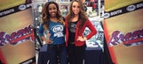 FOX Sports South Girls at Braves Caravan
