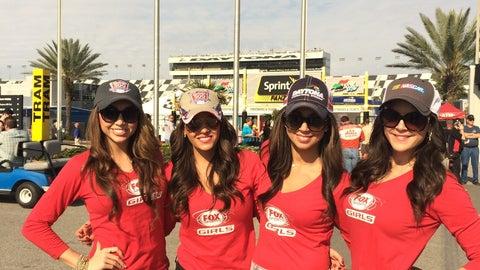 FOX Sports Girls at Daytona 500
