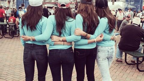FOX Sports Girls at 2014 Daytona 500