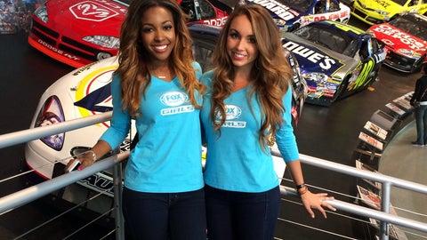 FOX Girls at 2014 NASCAR Sprint All-Star Race