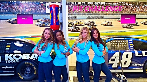 FOX Girls at 2014 NASCAR Sprint All-Star Race