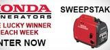 Honda Generator Tailgate Giveaway Sweepstakes
