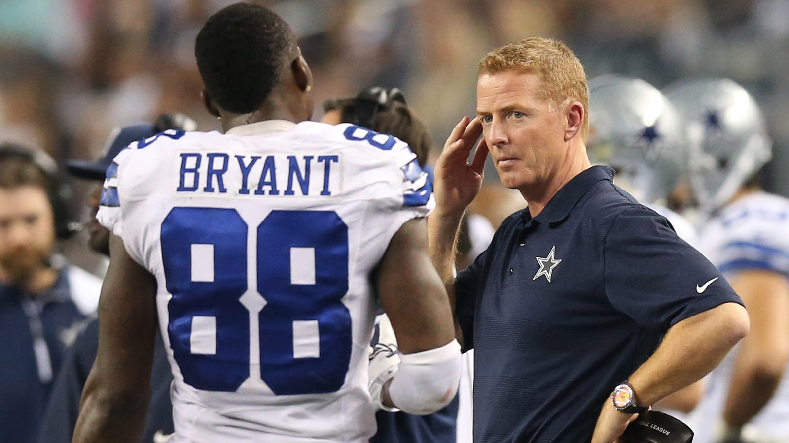 Cowboys Coach Compares Bryant S Leadership To Irvin Fox Sports