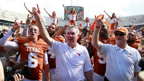 Mack Brown once coached Sooners