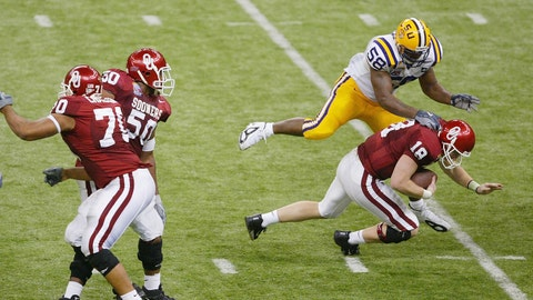 10. 2004 Sugar Bowl: No. 2 LSU 21, No. 1 Oklahoma 14
