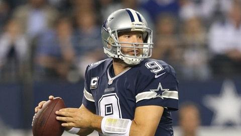 Cowboys QB Tony Romo, $18 million