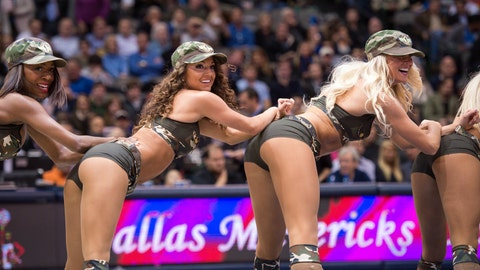 Mavs Dancers
