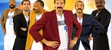 Dirk Nowitzki is Ron Burgundy, at least in this video