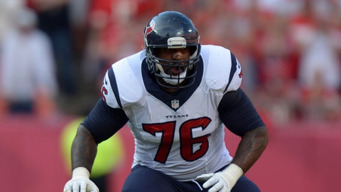Virginia Tech: LT Duane Brown, No. 26 overall (2008), Houston Texans