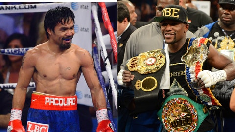 Manny Pacquiao vs. Floyd Mayweather
