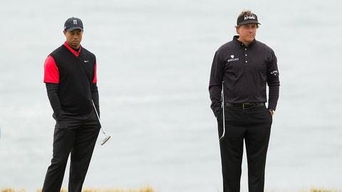 Tiger Woods vs. Phil Mickelson