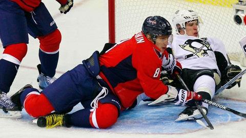Alexander Ovechkin vs. Sidney Crosby