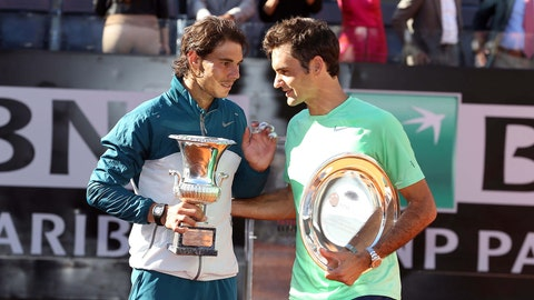 Rafael Nadal vs. Roger Federer