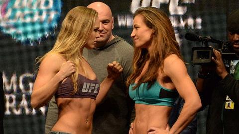Ronda Rousey vs. Miesha Tate