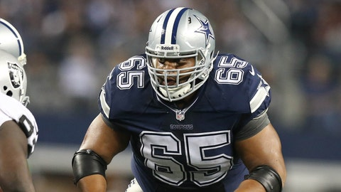 Left guard: Ronald Leary, Cowboys