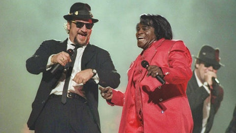 The Blues Brothers, ZZ Top and James Brown