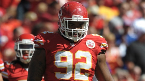 Dontari Poe, DT, Memphis / Drafted 11th overall by the Kansas City Chiefs