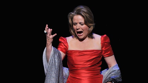 How long will it take Renee Fleming to sing the US National Anthem?