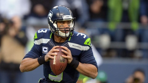Will the announcers refer to Russell Wilson being drafted in the MLB?