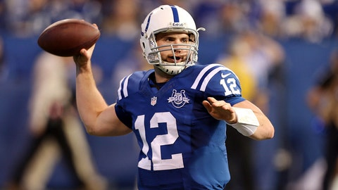 Andrew Luck (first pick, 2012, Indianapolis Colts)