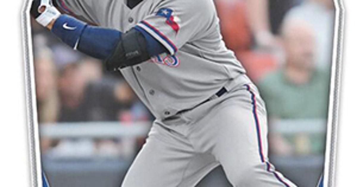 wilson to make rangers baseball card debut in may fox sports