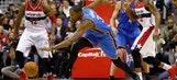 Wizards end Thunder's 10-game win streak