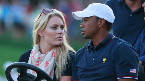 Lindsey Vonn and Tiger Woods