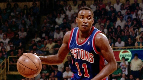 Isiah Thomas: 12-time All-Star