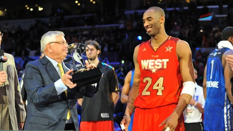 Kobe Bryant: 18-time All-Star